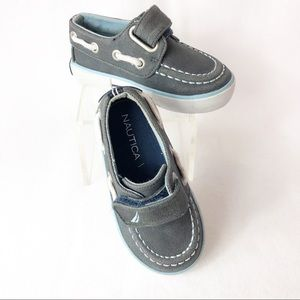 Nautica Toddler Boys Size 5 Boat Shoes